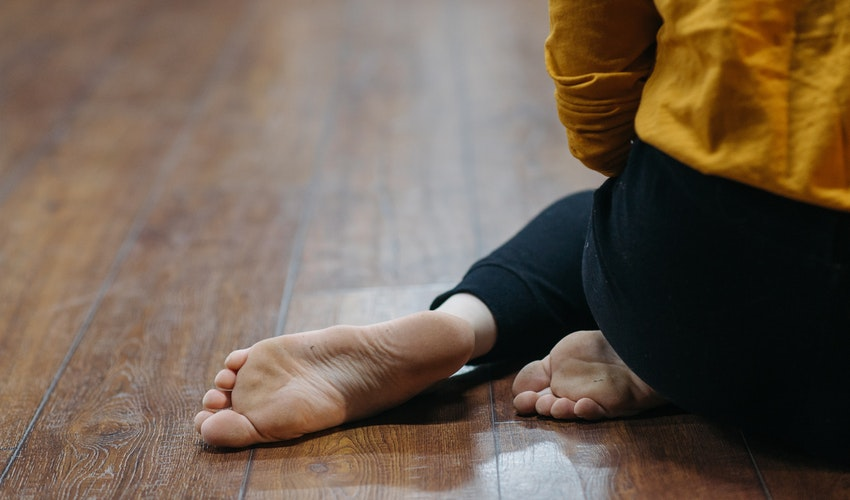 Foot Stretches for Sore, Tired Feet